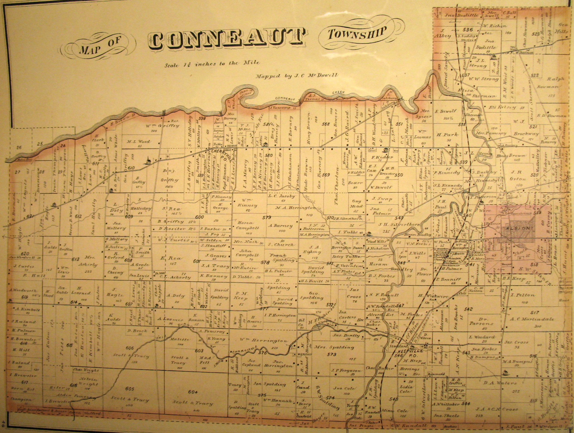 Erie County Atlases on