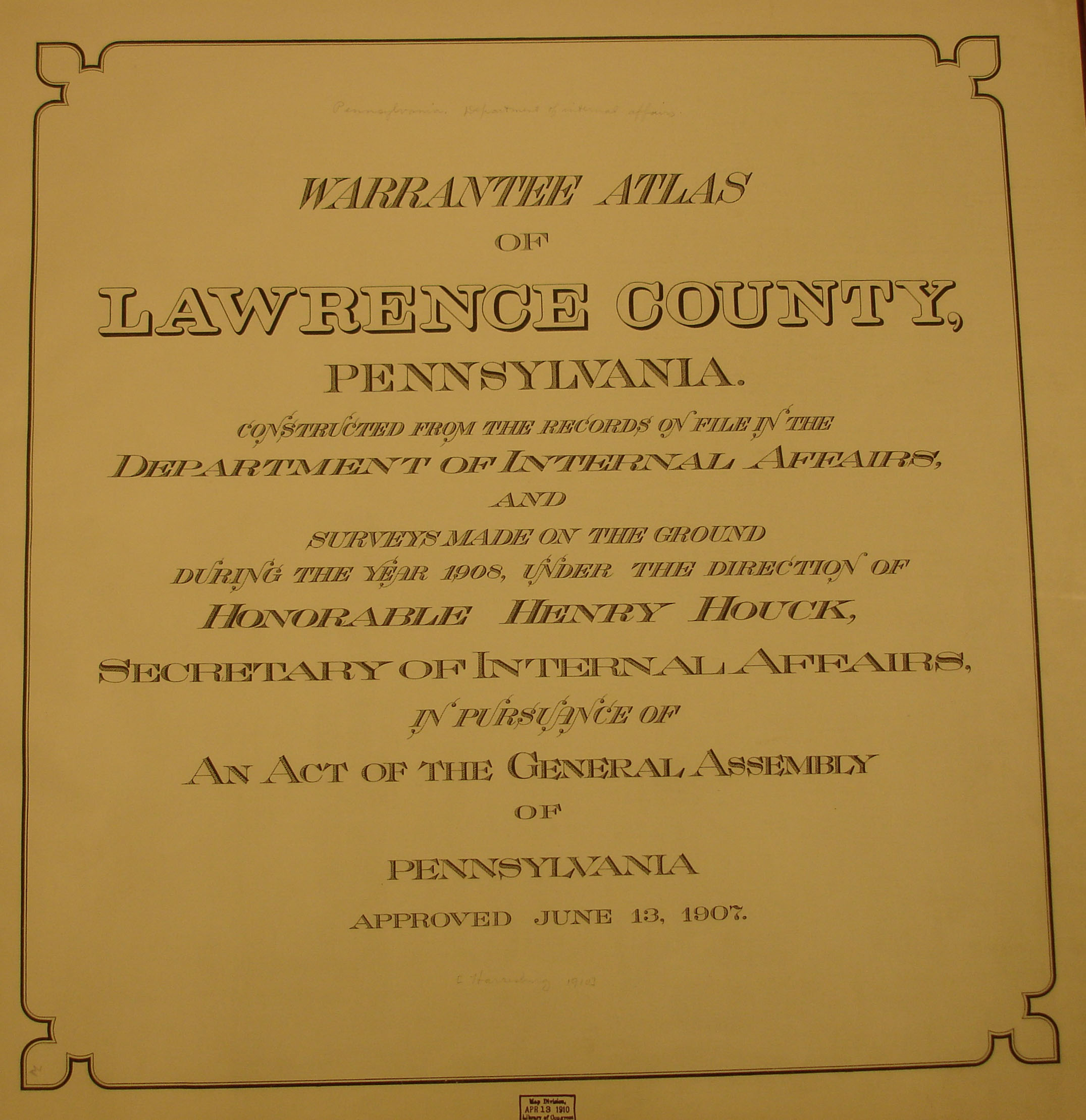 lawrence county pa property tax records