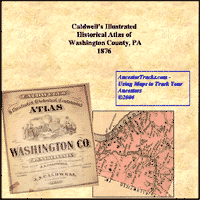 Cover of Caldwell's Illustrated Combination Historical Atlas