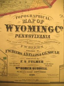 Wyoming County Atlas, 1869